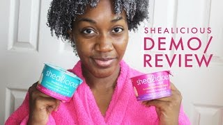 ORS Hair Care Shealicious Demo + Review | Moisture Lock with Tamanu and Black Currant Oils