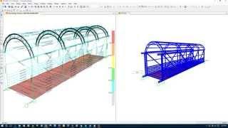 getlinkyoutube.com-How to Assign Open Frame Wind Load for Open Frame Structure Design in SAP2000