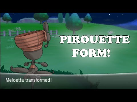 Pokemon X and Y - How To Get Meloetta Pirouette Form!