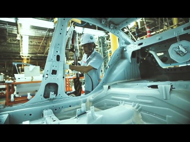 Quy trình sản xuất Nissan Almera hoàn toàn mới !