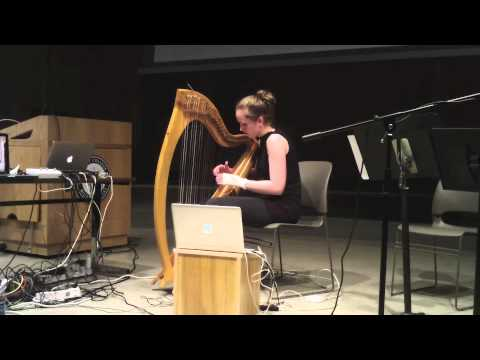Namhóg - harp and electronics