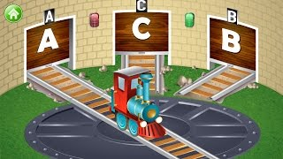 "getlinkyoutube.com-Kids ABC Letter Trains Educational Education ""Preschool Learning"" kids ages 2-7 #1"