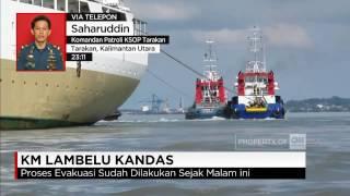 getlinkyoutube.com-4 Tug Boat Evakuasi KM Lambelu yang Kandas di Perairan Tarakan
