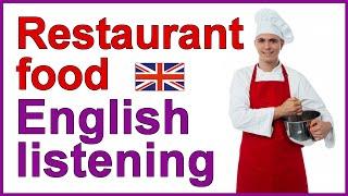 getlinkyoutube.com-English listening exercise - Restaurant food