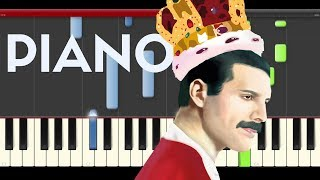 getlinkyoutube.com-Queen We Will Rock You Piano Tutorial Karaoke Midi Pixels Movie