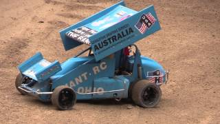 (7) NZ Quarter Scale Speedway Championship - More RC Sprint Cars - 24/10/2015