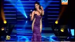 "getlinkyoutube.com-Klodia performing ""Bandam Awy"" at Miss Egypt 2010"