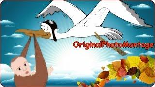 getlinkyoutube.com-Аист и Ребёнок Speed Art #Photoshop