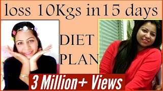 getlinkyoutube.com-Weight Loss Diet Plan   How to Lose Weight Fast 10 Kgs   Diet Chart or Meal Plan for Weight Loss