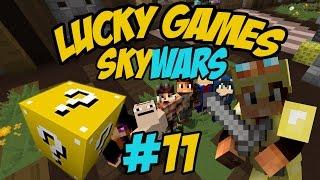 getlinkyoutube.com-[Minecraft] Presque Lucky SkyWars- AVEC LES ABONNÉS !!