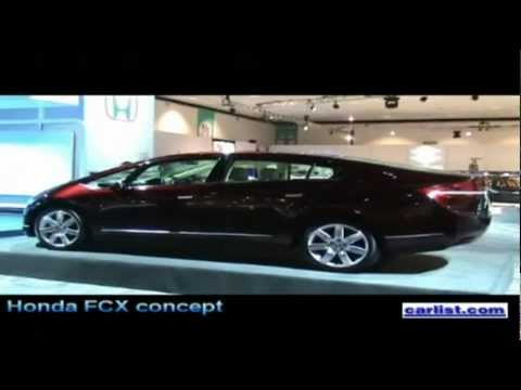 Stephen Ellis, American Honda Motor Company takes us on a tour of the Honda FCX fuel cell vehicle