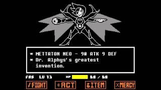 getlinkyoutube.com-Undertale - Mettaton NEO Boss Fight