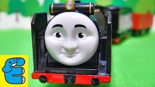 getlinkyoutube.com-プラレールトーマス#22 おしゃべりヒロ改 Plarail Thomas #22 Upgraded Talking Hiro