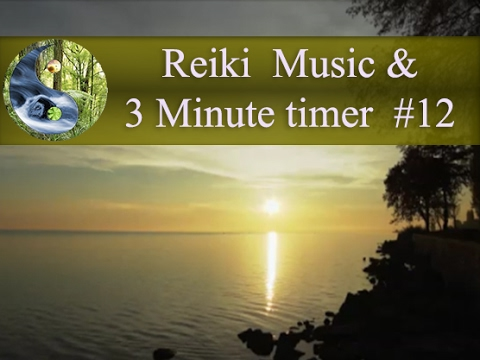 Reiki Music with 3 Minutes Bell: Reiki Timer: Tibetan bowl Meditation Music; Healing Music 💜