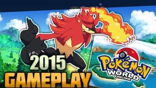 getlinkyoutube.com-Pokemon World Online 2015 Gameplay