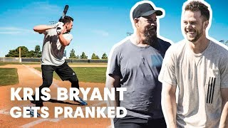 getlinkyoutube.com-Baseball Star Kris Bryant Gets Pranked by Hall of Famer Greg Maddux