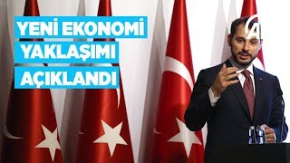 Hazine ve Maliye Bakanı Albayrak Yeni Ekonomi Modeli'ni açıkladı
