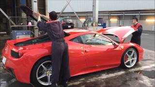 getlinkyoutube.com-フェラーリ458の洗車