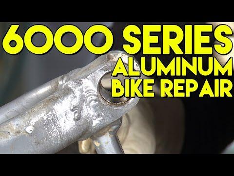 Aluminum Bike Frame Weld Repair | TIG Time