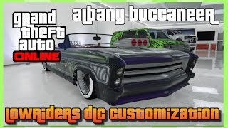 "getlinkyoutube.com-Gta 5 Online : Lowriders DLC Update ""Albany Buccaneer"" Full Customization"