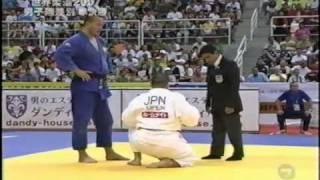 getlinkyoutube.com-MUNETA,Yasuyuki (JPN)-TANGRIEV,Abdullo(UZB)2007 World Judo  Championship(m Open)Semifinal