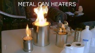 "getlinkyoutube.com-Homemade ""Metal Can"" Air Heater! - Survival/SHTF Air Heater! - DIY (uses no electricity!)"