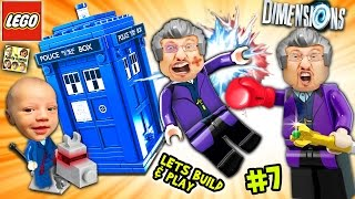 getlinkyoutube.com-Lets Build & Play LEGO Dimensions #7: DR. WHO!? FGTEEV Duddy Goes Back In Time w/ Tardis!  K-9 FARTS
