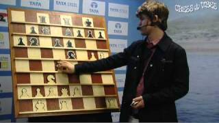 getlinkyoutube.com-Magnus Carlsen shows his win against Hikaru Nakamura (part 1 of 2)