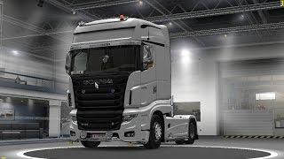 getlinkyoutube.com-Gameplay ETS2 + Scania R700 job (Graz to Antwerpen) by RendSetiawan
