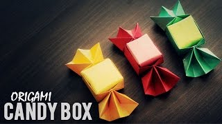 getlinkyoutube.com-DIY : Origami Candy Box