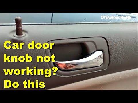 Replacement of Rear Door Actuator on the Accord