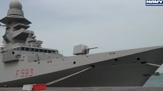 getlinkyoutube.com-DIMDEX 2016: USS Ponce AFSB ITS Carabiniere FREMM Lafayette class Frigate Aconit