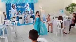 getlinkyoutube.com-Aniversário Alana Frozen