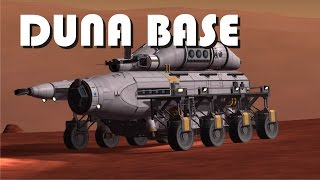 Stock Mobile Base to Duna with SSTOs! - KSP 1.1.3 - [2000 subs special]