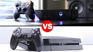 getlinkyoutube.com-Alienware Alpha Vs Playstation 4 Graphics Comparison