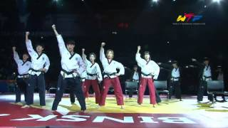 WTF Taekwondo Demonstration at World Championships 2015 in Russia