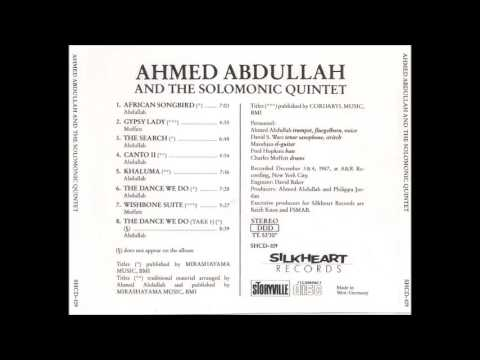 Ahmed Abdullah and The Solomonic Quintet on Silkheart Records