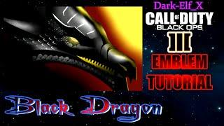 getlinkyoutube.com-Black Ops 3 Emblem - Black Dragon