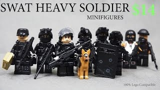 getlinkyoutube.com-Lego SWAT Team Raid Modern Warfare Minifigures Brickarms Toy Gun КРУТЫЕ ЛЕГО СОВМЕСТИМЫЕ ФИГУРКИ