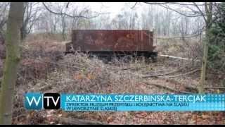 getlinkyoutube.com-Telewizja Wałbrzych - Zapomniany wagon na Dworcu Głównym
