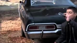 getlinkyoutube.com-Dean Winchester Fear dog, snake, and Ghost