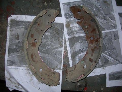 Замена задних тормозных колодок на Митсубиши Л-200