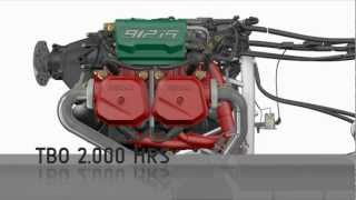 getlinkyoutube.com-Rotax 912 iS engine 3D animation