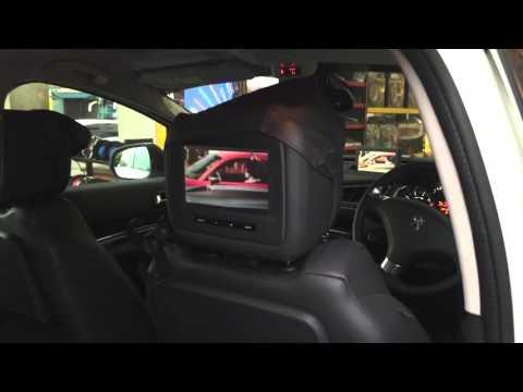 DVD full set system for Peugeot 5008