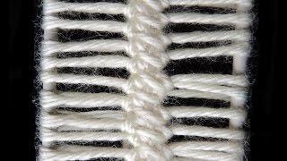 getlinkyoutube.com-Crochet y Horquilla : Punto # 4.