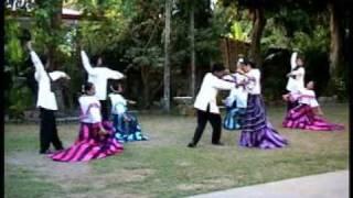 getlinkyoutube.com-Philippine Folk Dances - Track 10 - La Jota Moncadena
