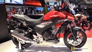 getlinkyoutube.com-2016 Honda CB500X- Walkaround - 2015 EICMA Milan