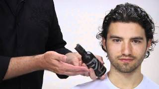 getlinkyoutube.com-Aveda | How to Style Men's Long & Curly Hair