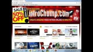 getlinkyoutube.com-Como Criar sua Própria Intro com o IntroChamp - GRATIS (Sem programas)