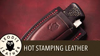 getlinkyoutube.com-Quick tip, how to hot stamp your leather